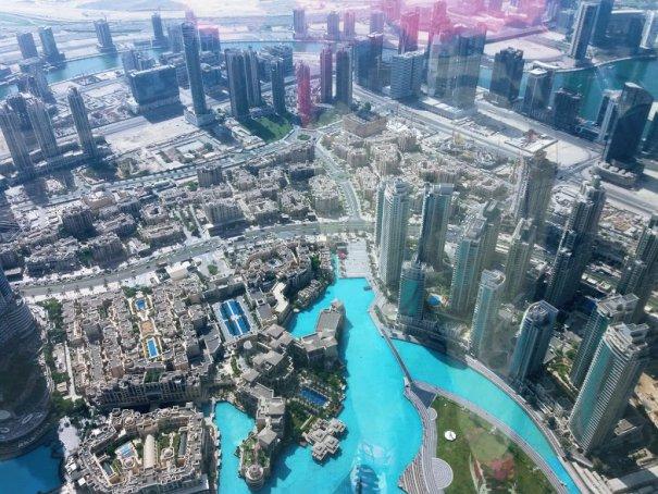 Burj Khalifa, punct de observație