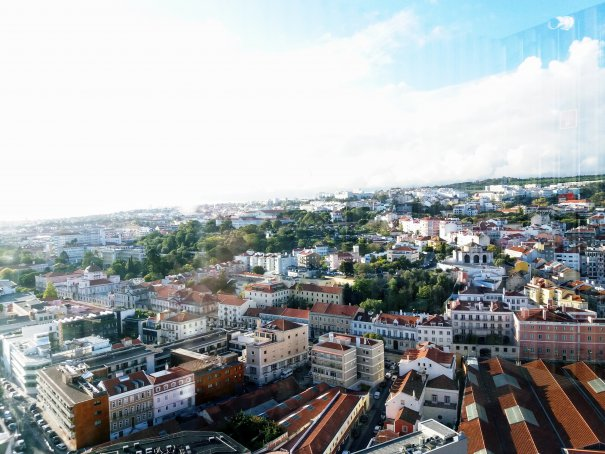 La 80 m deasupra Lisabonei, pe Ponte 25 de Abril