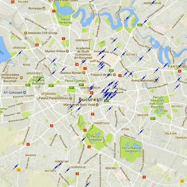 Incredibil Harta Locurilor Unde Se Consumă Droguri In București