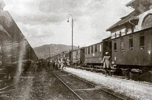 Vagoanele cu tezaurul românesc