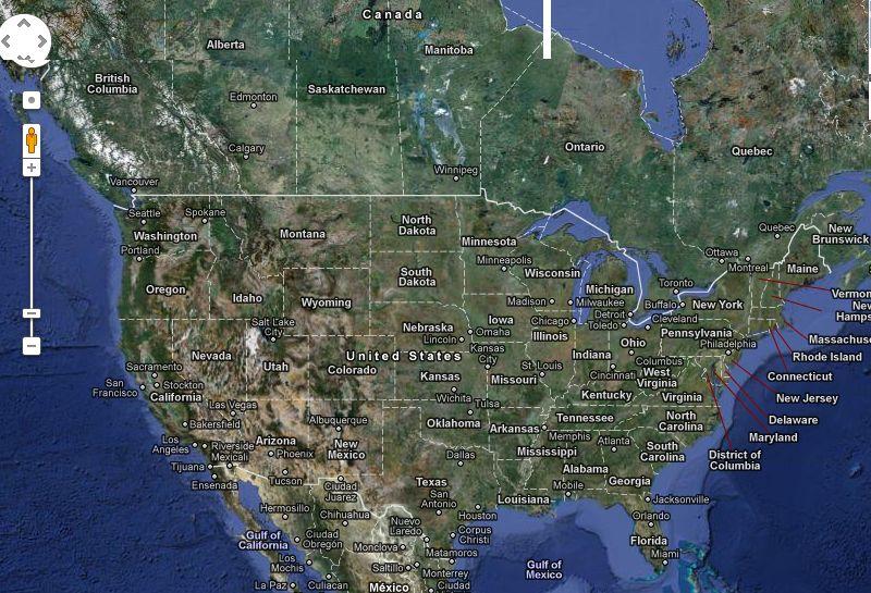 Google Maps Compromite Securitatea Naţională A Sua Imagini Din