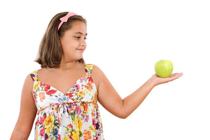 ajutați fiica de 10 ani să piardă în greutate