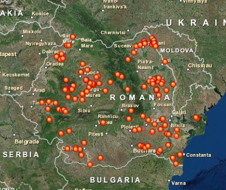 Harta Localităților Fantomă Din Romania Evenimentul Zilei
