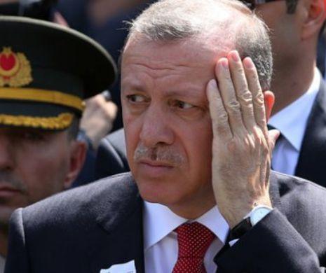 Erdogan a încercat o mare lovitură de Poker și acum se teme să nu rămână Popa Prostu'