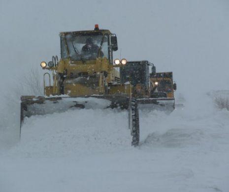 VIDEO. Pericol maxim după prima ninsoare. Ce se întâmplă chiar acum