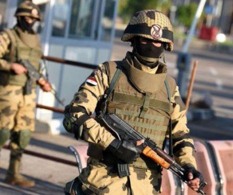13 teroriști islamiști au fost lichidați de către forțele de securitate egiptene