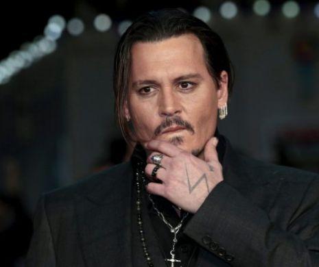 Johnny Depp, apariție surpriză într-un tribunal din Londra