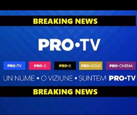 """Gafă de proporții în televiziune: Un jurat de la ProTV a """"comis-o"""""""