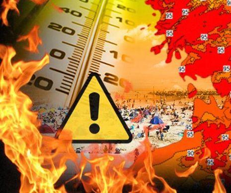 Meteo. Temperaturi alarmante. Câte grade s-au înregistrat în România?