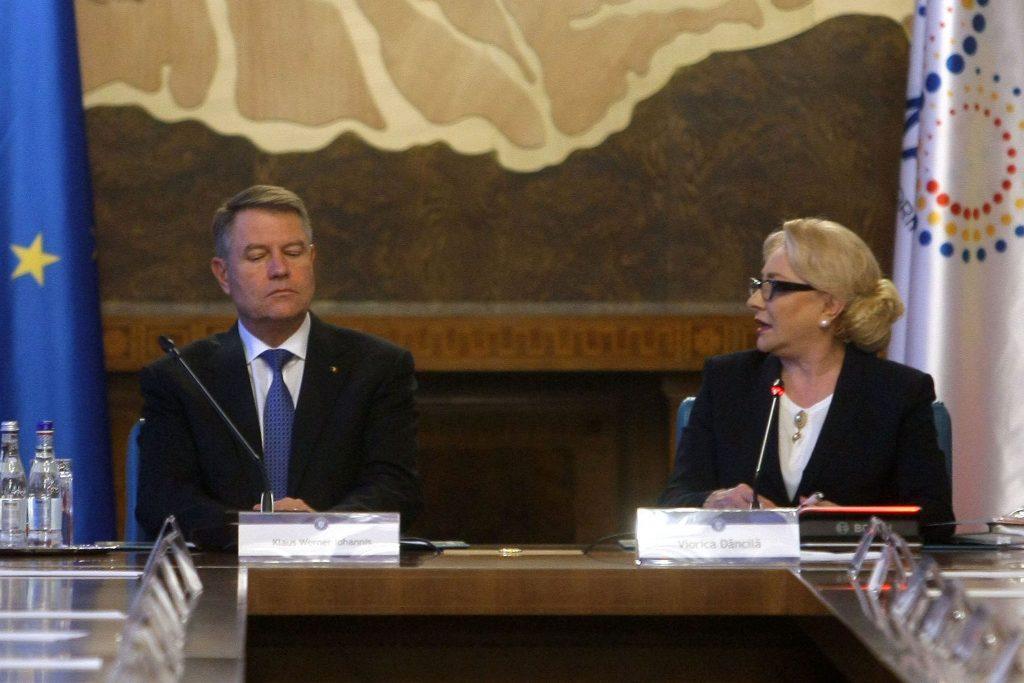 Viorica Dăncilă a marcat încheierea preşedinţiei rotative a Consiliului Uniunii Europene. Klaus Iohannis nu a fost prezent