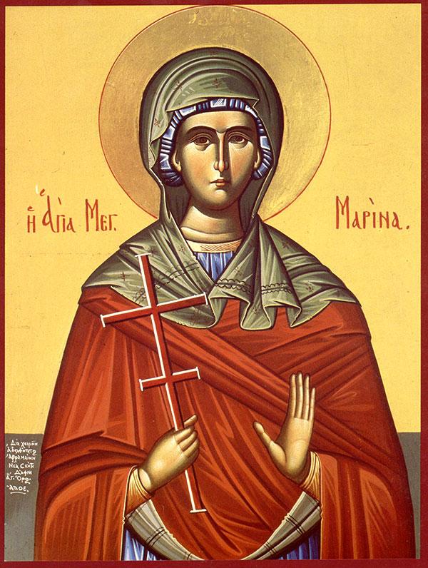 Sfântul zilei. Mica Marina