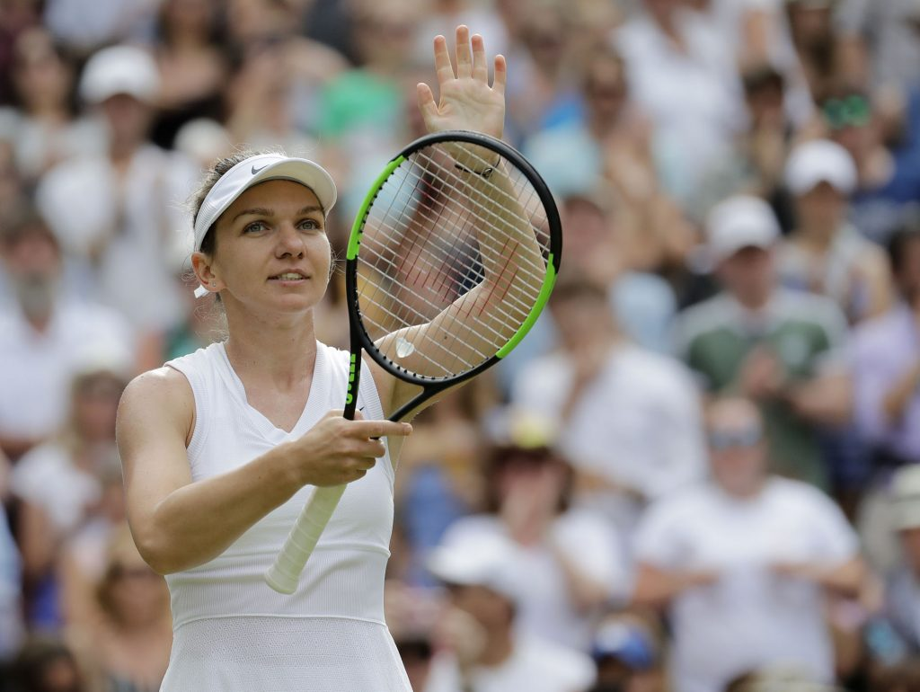O româncă a scris istorie la Wimbledon!!! Simona Halep a zdrobit-o pe Serena Williams