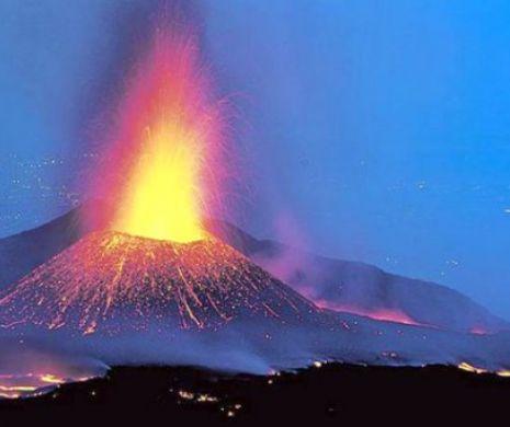 Panică după erupția unui vulcan. Sute de persoane au fost evacuate