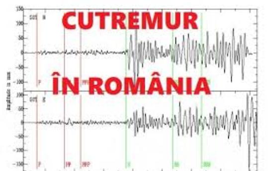 Cutremur serios în România: 5,2 grade. Cel mai tare din ultima perioadă. Alertă în București