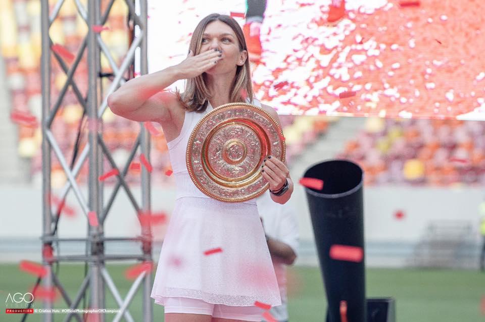 Simona Halep s-a descătușat! A dat frâu liber sentimentelor. Foto șoc!