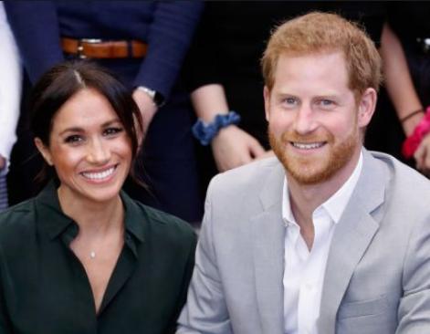 Meghan, mesaj codat pentru Regină în colajul foto de ziua lui Harry! Foto în articol