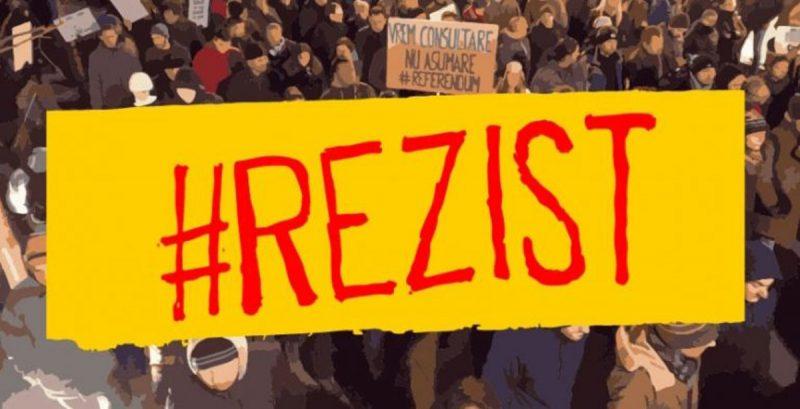 Protestatarii #rezist se destramă. Anunțul făcut de unul dintre lideri –  Evenimentul Zilei