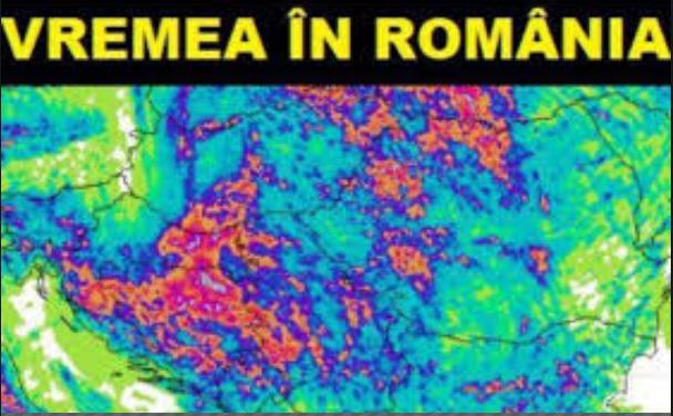 Vremea. ANM, prognoza modificată peste noapte. Ploi și furtuni în toată România