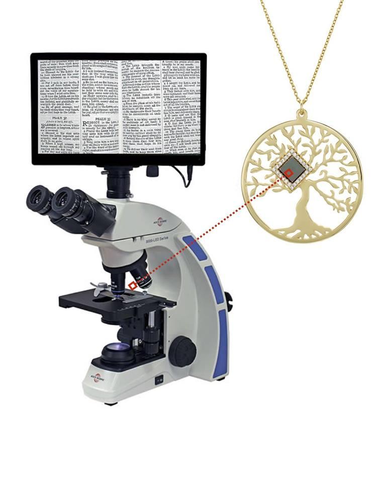 Cea mai mică Biblie din lume