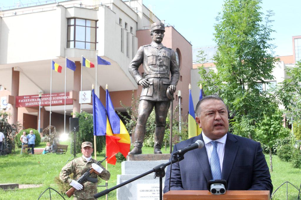 Generalul român care a pus opinca pe Budapesta are statuie la Cluj