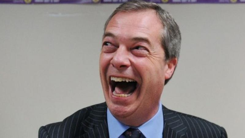 """Farage: """"Noi iubim Europa, dar urâm Uniunea Europeană"""""""