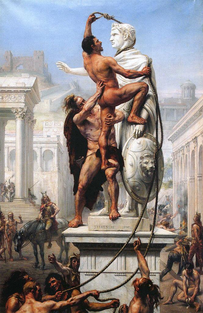 Roma a căzut după ce imigranții au pus mâna pe funcțiile cheie ale Imperiului