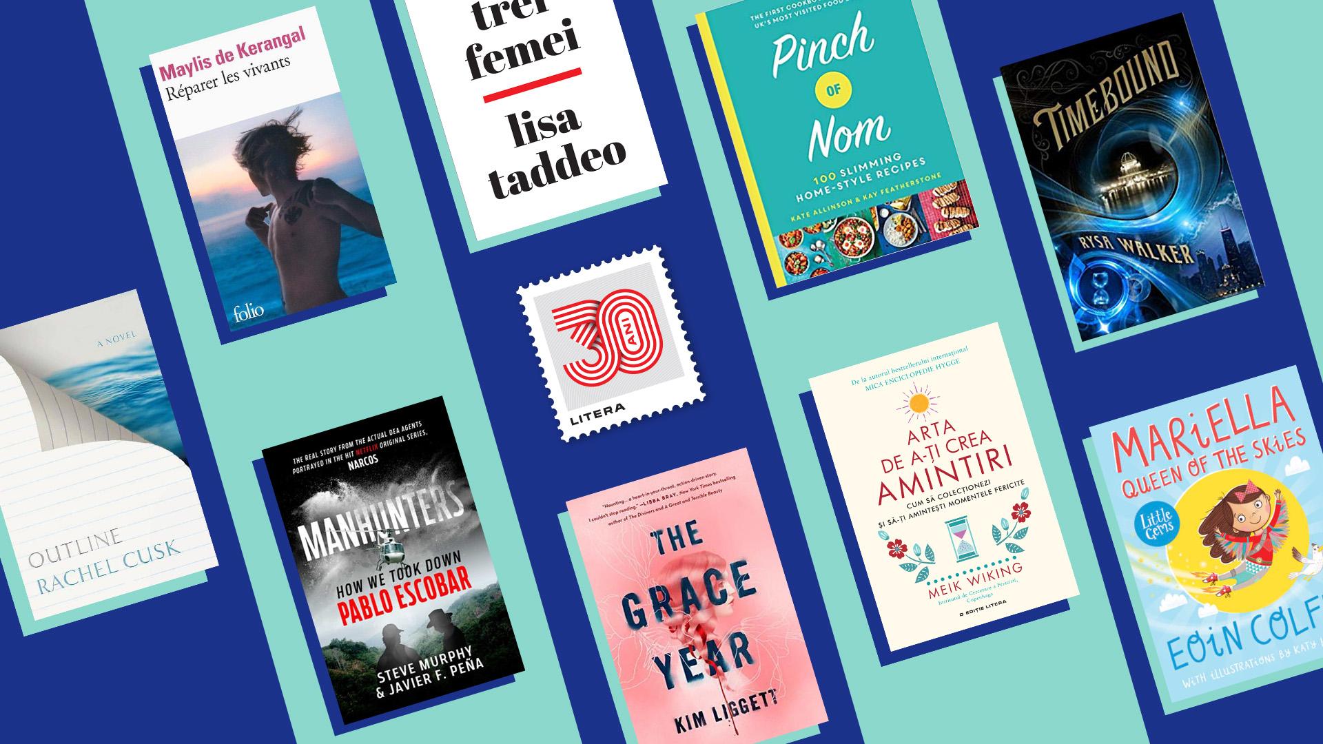 """Cele mai așteptate cărți ale toamnei: """"Minus optsprezece grade"""", """"Trei femei"""", """"Jurnalul Reniei…"""""""