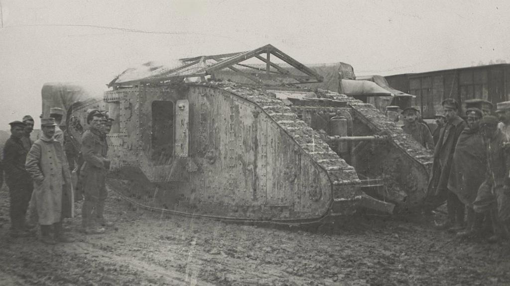 """Primul tanc de luptă din istorie. """"Niște monștri enormi din oțel avansau spre germani"""""""