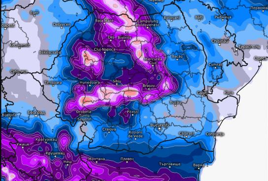 Se întoarce iarna? Ninsorile lovesc România. Vremea se strică rău