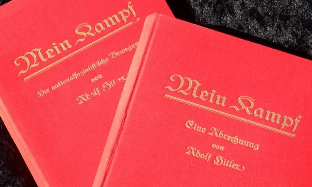 """""""Mein Kampf"""" va fi reeditată în Franța în 2020"""