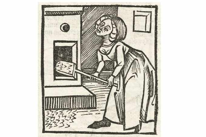 De la spălatul picioarelor la încălzirea patului: obligațiile femeilor casnice în Evul Mediu