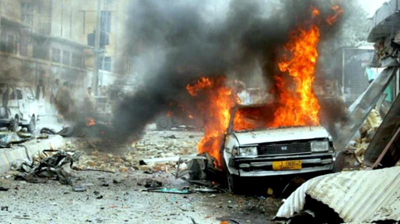 Explozie cu mașină-capcană. Orașul e distrus, sunt zeci de morți! VIDEO