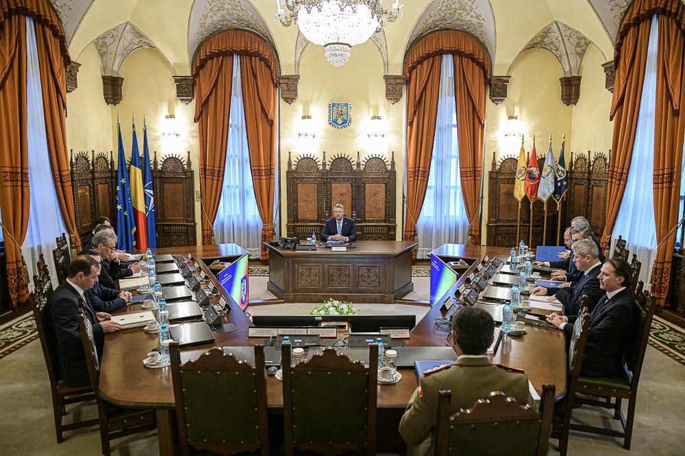 Consiliul Suprem de Apărare a Ţării, în ședință extraordinară pe tema coronavirusului