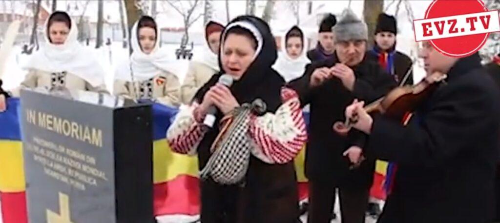 Evz.TV. Lacrimi la mormintele românilor uciși în lagărele din Rusia. Video emoționant