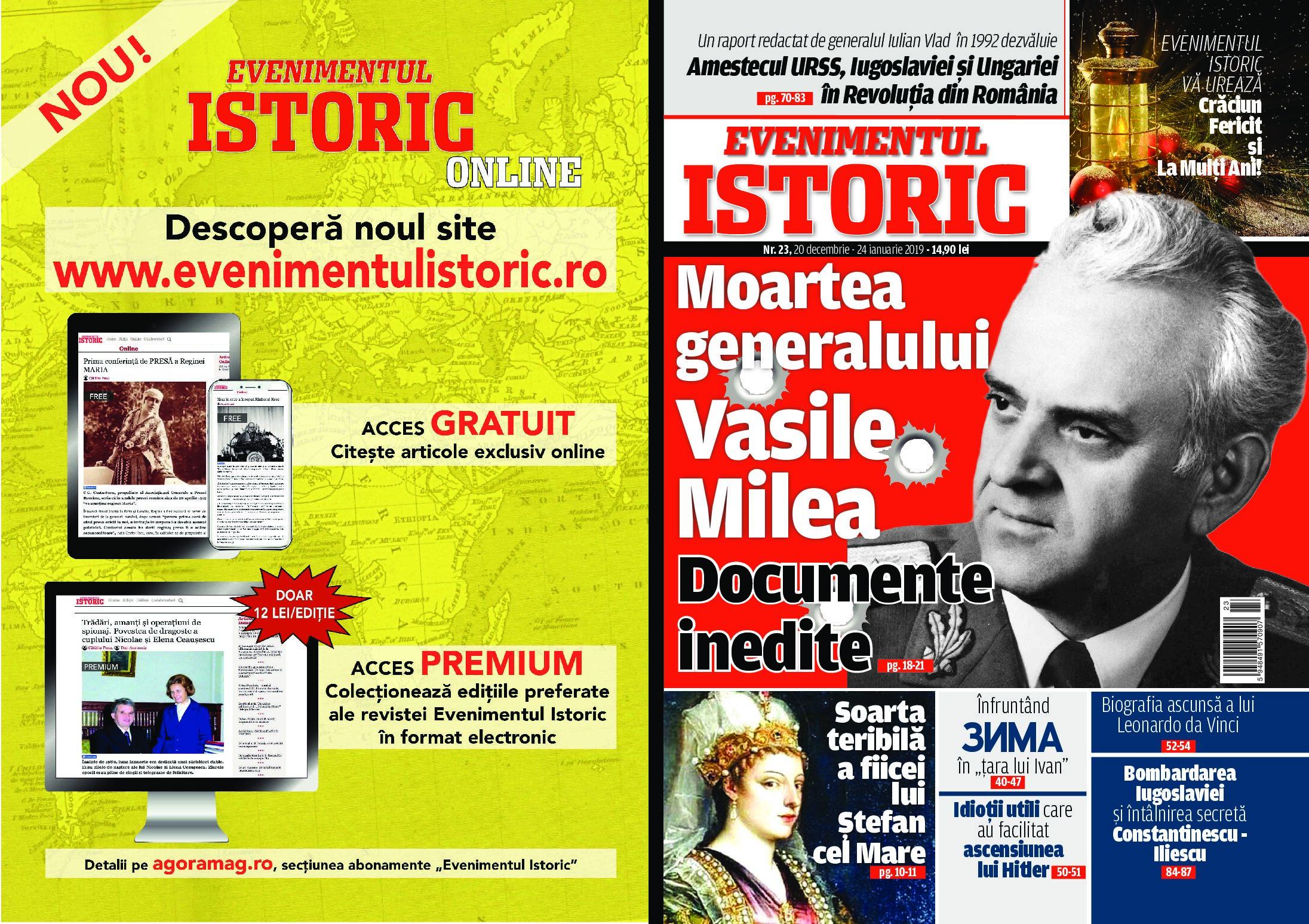Sinuciderea Generalului Vasile Milea a fost o execuție ordonată de Nicolae Ceaușescu! O ipoteză șocantă