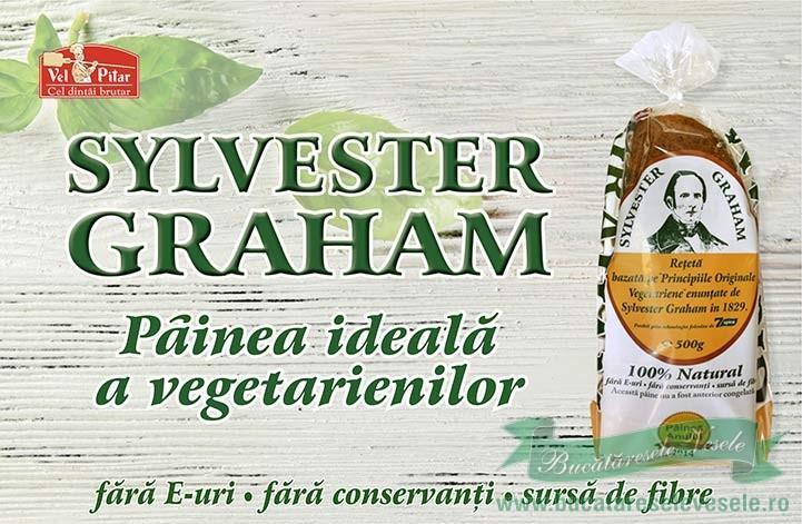 Pâinea Graham a fost inventată pentru a stimula puritatea masculină