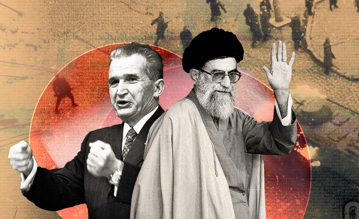 Blestemul lui Ceaușescu lovește după 30 de ani! Vor sfârși la zid actualii lideri din Iran