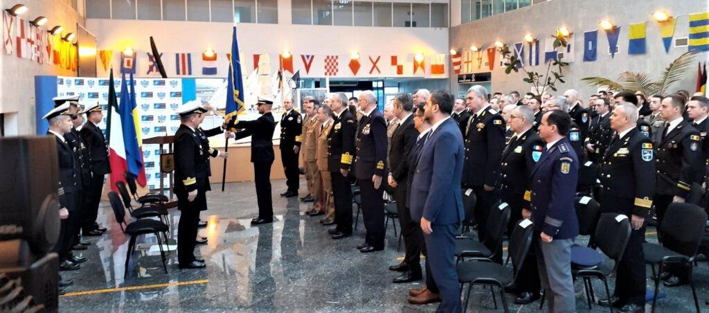 România a preluat, în premieră, comanda grupării navale permanente a NATO