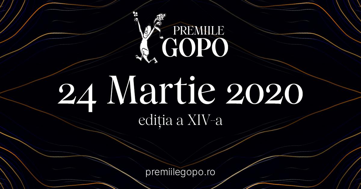 Premiile GOPO 2020, nominalizări – cele mai bune filme, cele mai bune actrițe, cei mai buni actori și regizori