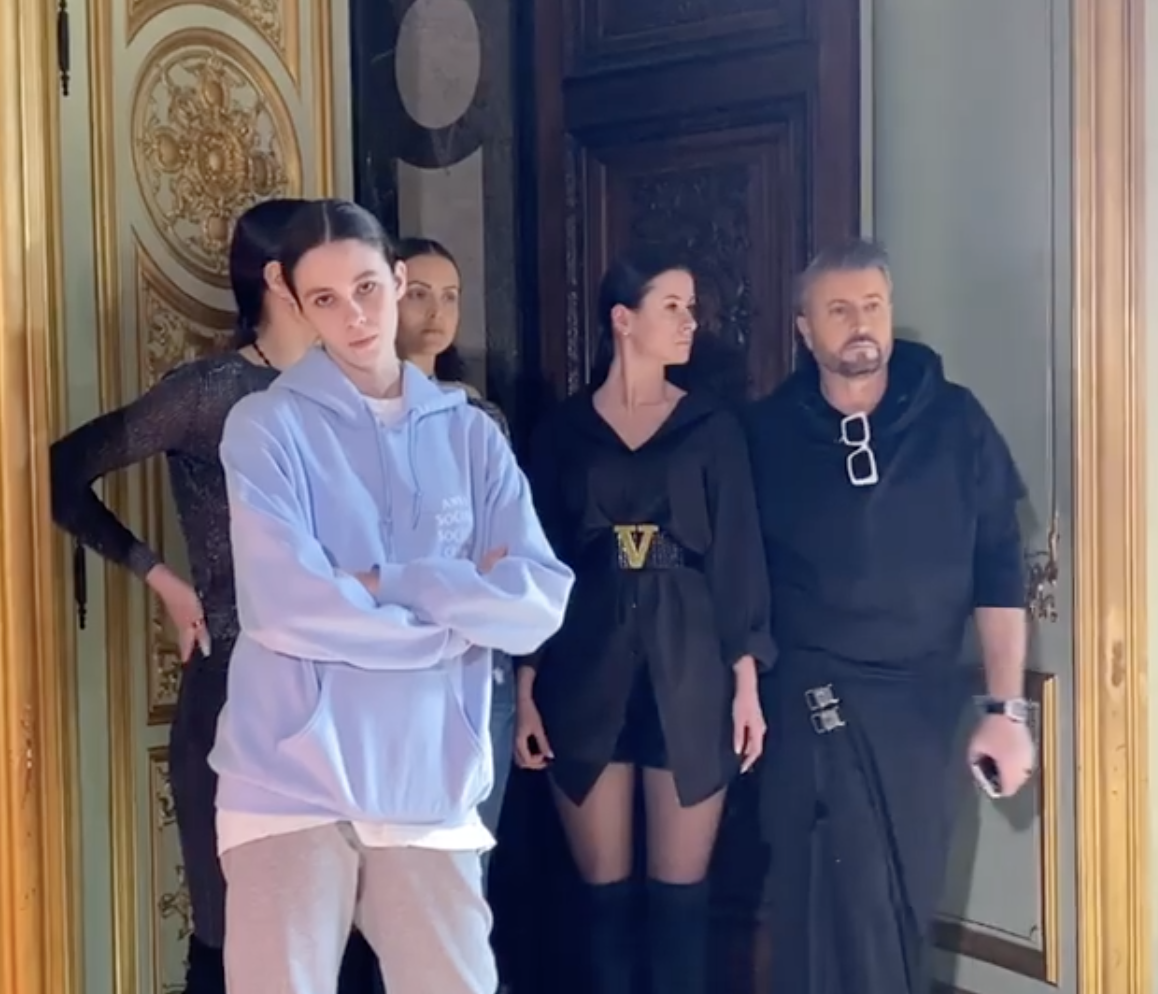 Ce a pățit Anamaria Prodan la Paris Fashion Week