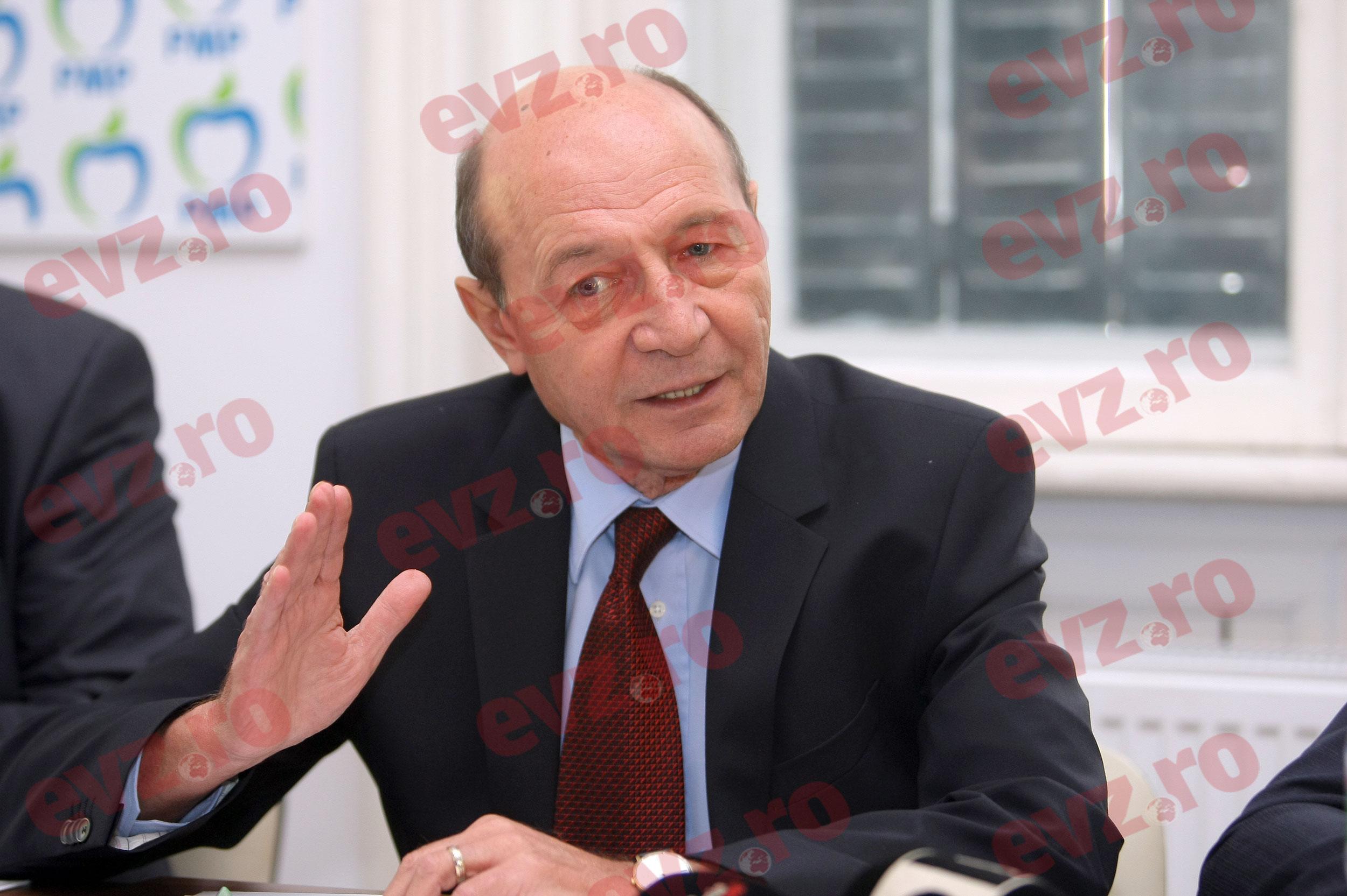 Bomba serii în politică! Traian Băsescu candidează la Primăria Capitalei