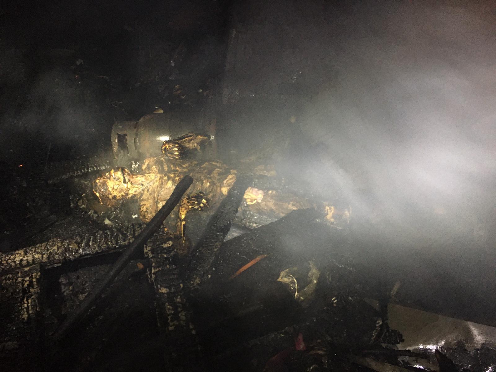 Cadavru descompus găsit de pompierii chemați să stingă un incendiu