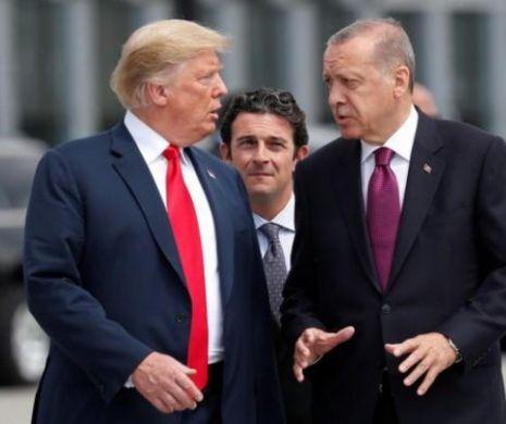 """Trump și Erdogan își dau mâna. Cum vor să evite """"o mare tragedie umanitară"""""""