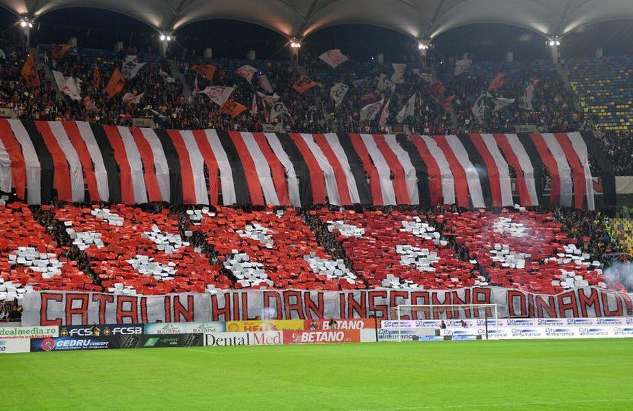 Cea mai mare umilință pentru Becali. Ce a fost afișat înainte de Dinamo – FCSB