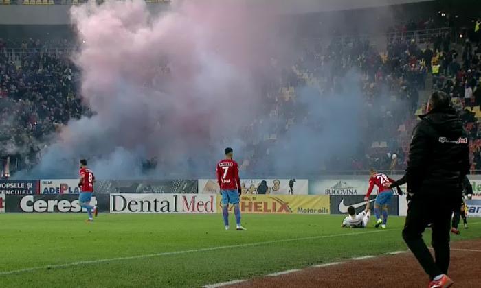 Dinamo – FCSB 2-1. Derby cu de toate, ca pe timpuri. Gigi Becali, la pământ