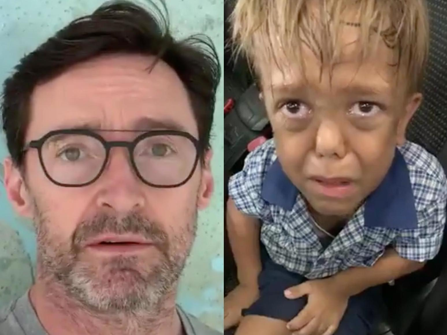 Un copil a vrut să se sinucidă în fața mamei! Fiul lui Trump a reacționat imediat. VIDEO