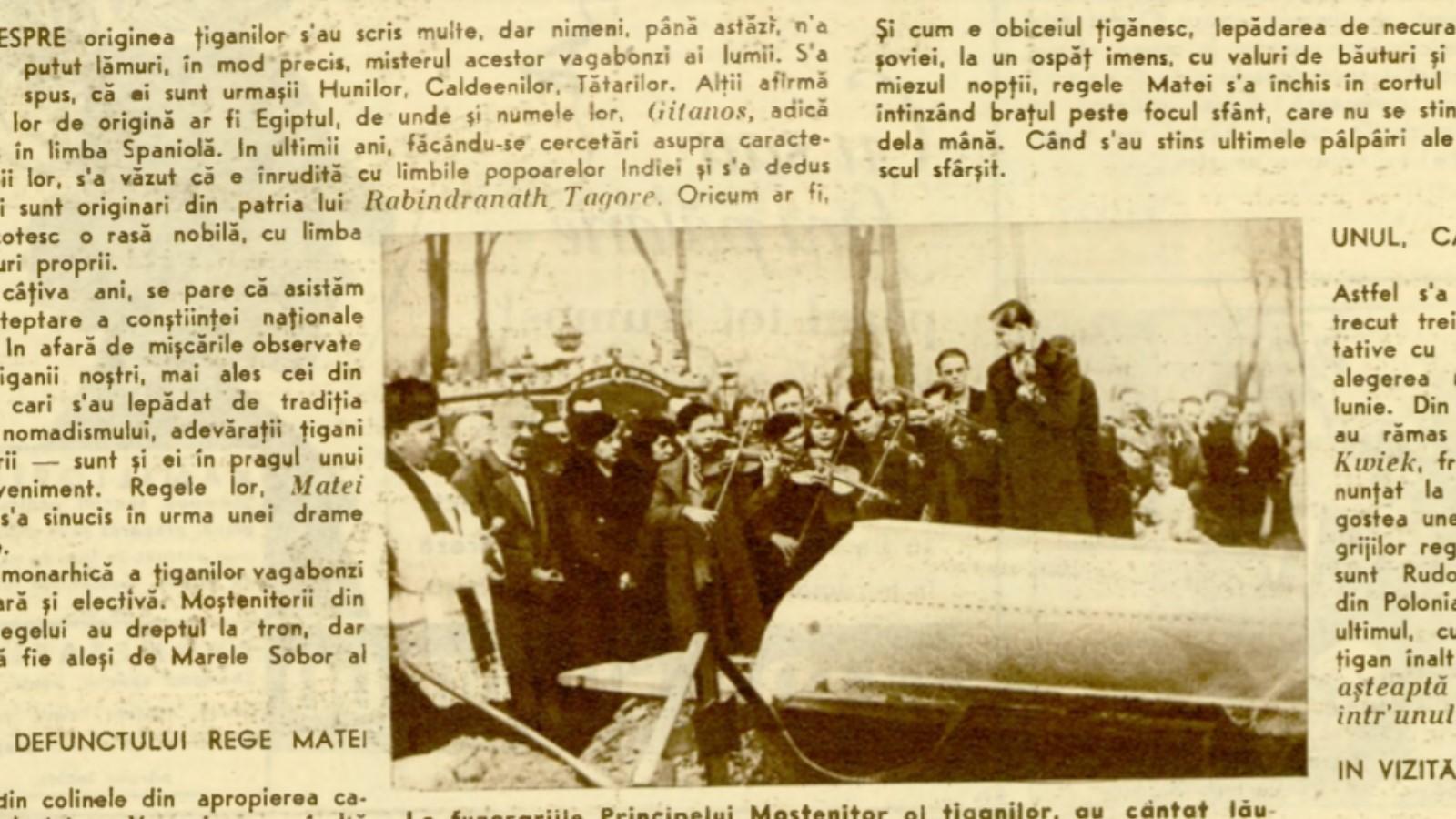 Momentul tragic din istoria universală a țiganilor petrecut în 1937