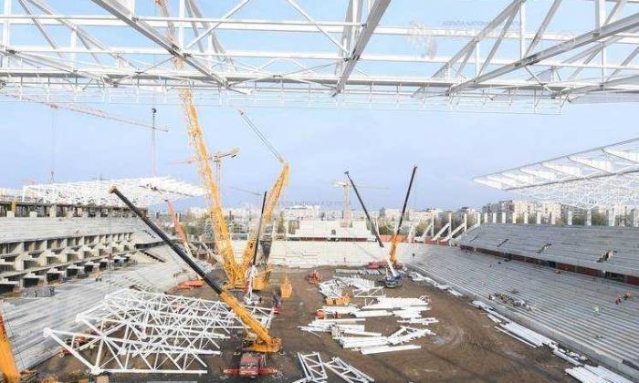 """România, fără stadioane la EURO 2020. Cum se construiau arenele pe vremuri: """"Am intrat în cizme în luna martie și am mai ieșit în octombrie"""""""