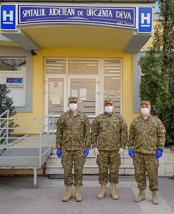 Din Afganistan, la spitalul din Deva. Interviul care lămurește intervenția Armatei în pandemia de Coronavirus. Video