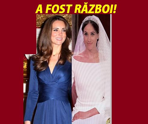 Scandal monstruos între Meghan Markle şi Kate Middleton! Mize obscure în Familia Regală